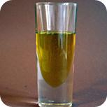 Öl für Rucola-Pesto