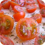 Tomaten und Thymian