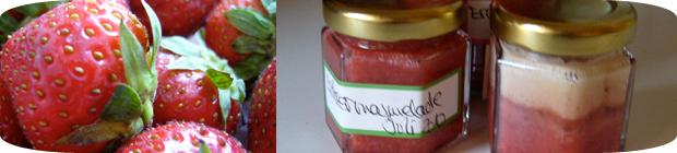 Erdbeermarmelade mit Marshmallowcreme