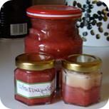 Erdbeermarmelade mit Marshmallowcreme^