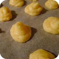 Balsamicosauce mit Herzoginnenkartoffeln und Bohnen im Speckmantel - Herzoginnenkartoffeln