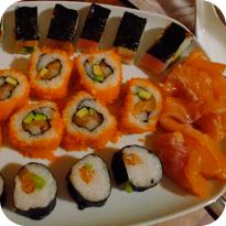 Sushi (Maki, Nigiri, Sashimi und Inside-Out)