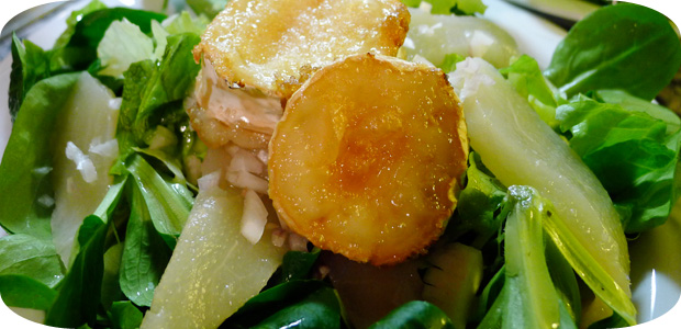 Ziegenkäse-Feldsalat
