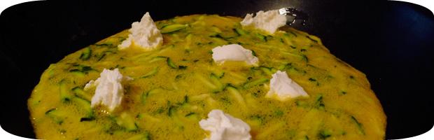 Zucchini Omelette