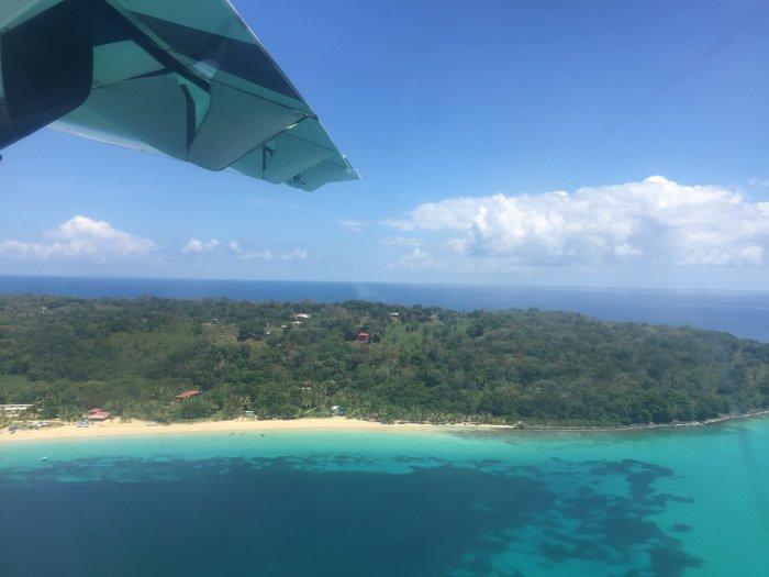 Anflug Corn Island_Nicaragua
