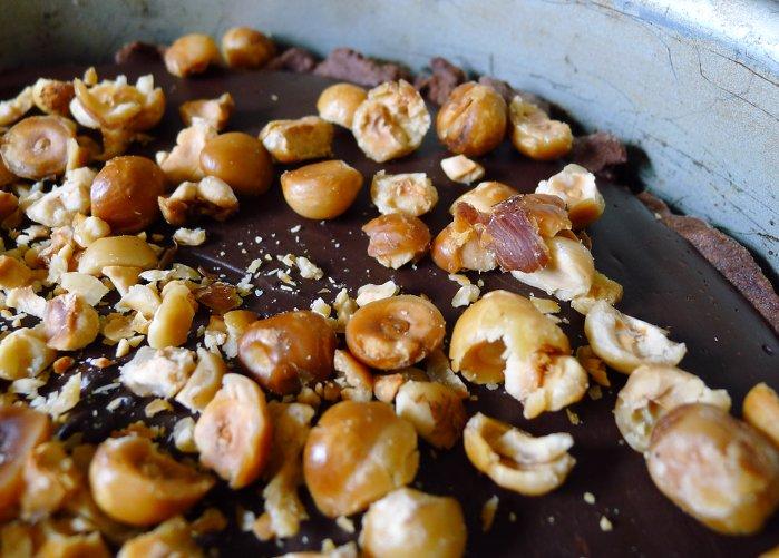 Schokoladentarte mit Haselnüssen6