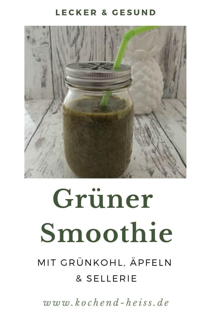 Grüner Smoothie Pinterest