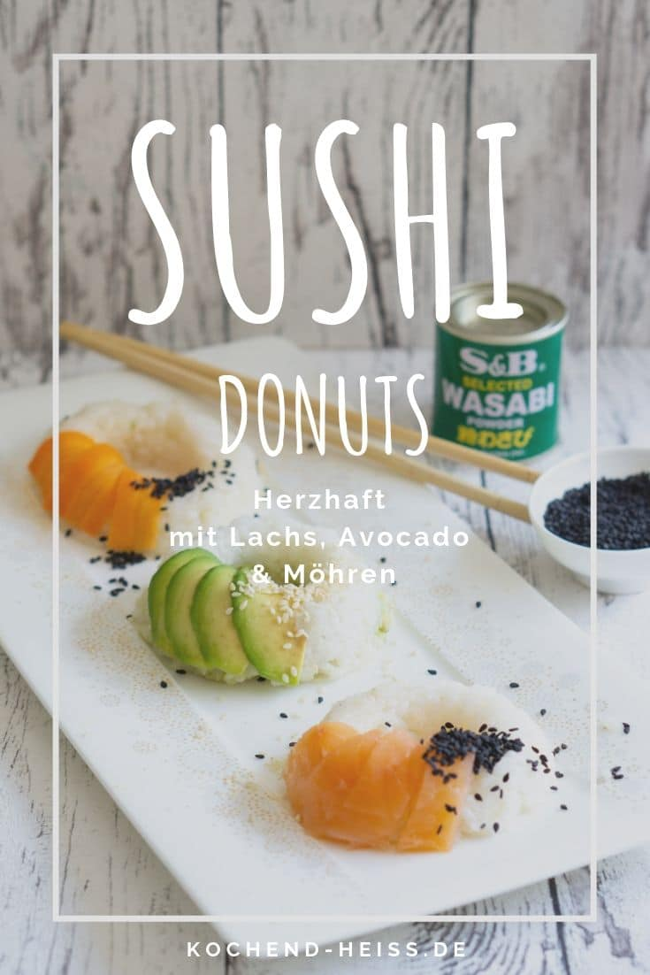 Sushi Donuts herzhaft