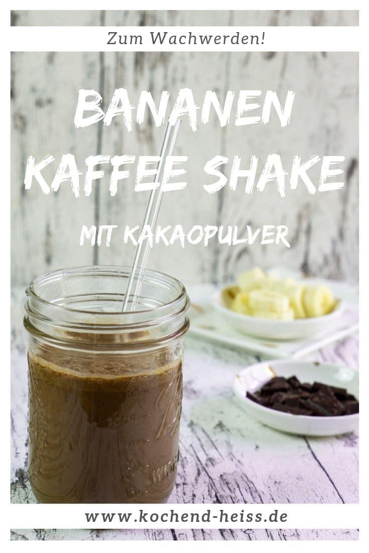 Bananen Kaffee Shake