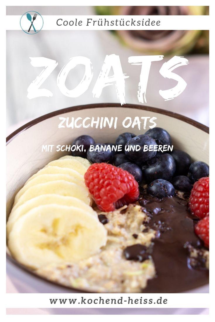 Zoats - Oats mit Zucchini (mit Beeren & Nüssen)
