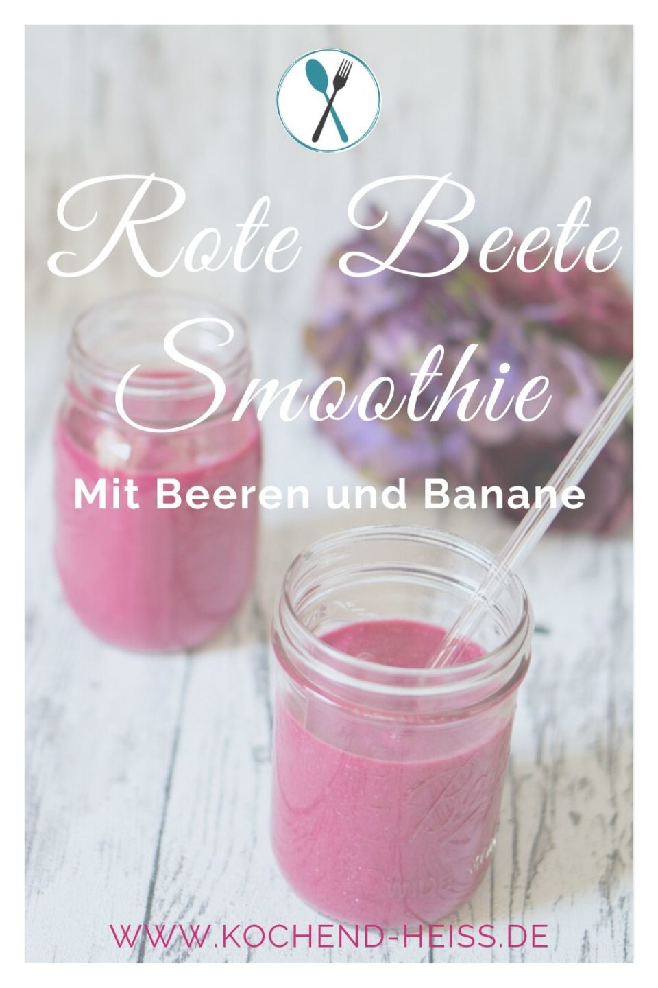 Leckerer Rote Beete Smoothie